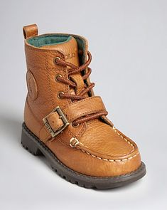 Ralph Lauren Childrenswear Toddler Boys' Ranger Hi II Boots - Sizes 5-7 Infant; 8-10 Toddler | Bloomingdale's