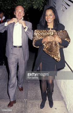 diana ross married arne naess | News Photo: Diana Ross and Arne Naess during Arne Naess…