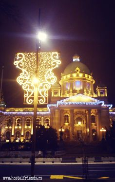 #Belgrade beautiful and ready for #holidays. How about you? :) Spend the #NewYear2016 in #HotelFriends. :)