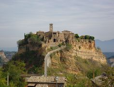 Civita di Bagnoregio, Italy - only 10 people lives here