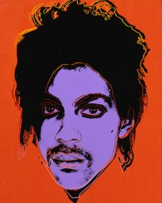 Art by Andy Warhol (1928-1987), ca. 1984, Prince, Silkscreen. #RIP - #Prince Rogers Nelson (born June 7, 1958 - April 21, 2016). He was 57.