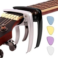Capo Change Tuner Accessory Tool Zinc Alloy for Acoustic and Electric Guitars #STYDDI