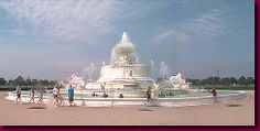 The Scott Fountain on Belle Isle was the gift of the controversial playboy millionaire James Scott. The fountain has fared better than his M...