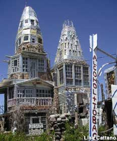 Beer Can Castle in Antonito, CO. Don't think I won't be going there sometime this summer!