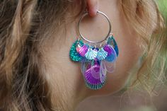 Hey, I found this really awesome Etsy listing at https://www.etsy.com/listing/498101835/parrot-fish-shell-sequin-mermaid