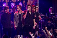 The boys at New Years rockin eve