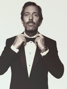 Hugh Laurie. Dapper British dad crush.