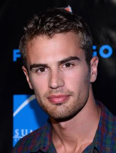 Theo James star of Divergence. If you haven't seen it, it is an AWESOME movie!!!