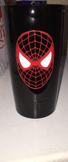Spider-Man 20oz Yeti cup Lonestar Concepts & Design lonestarjess15@yahoo.com