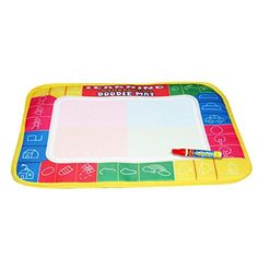 Baby Activity Play Centers - Dreaman New Water Drawing Painting Writing Mat Board Magic Pen Doodle Toy Gift 29X19cm *** Click image for more details.