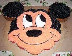 Pastel de Cupcakes de Mickey