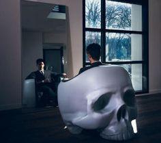 Кресло-череп от Грегори Бессона