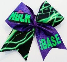 batman cheer bow captain america cheer bow she hulk ibase cheer bow $ ...