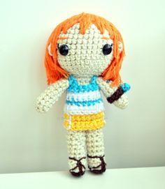 Nami Amigurumi by Breaking-crochet.deviantart.com on @deviantART