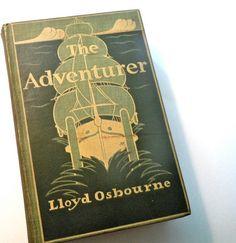 The Adventurer by Loyd Osbourne  vintage book by MoreLooseEnds