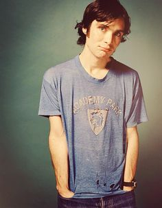 Cillian Murphy. This is such a cute picture. And cute isn't a word that is usually associated with him.