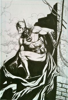 Batman Earth One by Gary Frank Comic Art