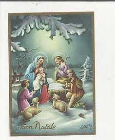 97270 Bella Cartolina Di Buon Natale Illustrata Da P. Ventura