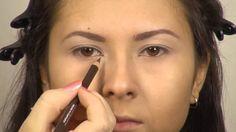 Макияж для маленьких глаз  макияж для карих глаз