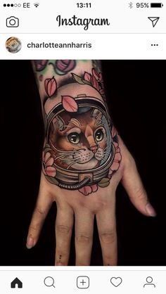 616368f22d2a2 Kitten Tattoo, Cat Tattoos, Green Tattoos, Animal Tattoos, Life Tattoos,  Body