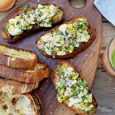 Toasties with Egg Salad