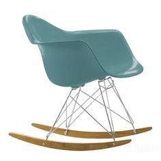 Eames Plastic Armchair RAR Schommelstoel - Vitra Oceaan