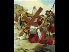 This is one of two official Catholic hymns adopted from the 20th century. I think it is originally Maronite due to the music and usage in church. This Good Friday hymn is sung by the Lebanese singer Fairuz. this song has been set to the Fourteen Stations of the Cross.