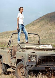 J. Crew's Summer in Africa                                                                                                                                                                                 More