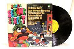 1970 Songs from Sesame Street LP 33 Record Peter Pan 8092 #Pop
