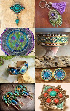 Boho Beauty by suzy fortenberry on Etsy--Pinned+with+TreasuryPin.com
