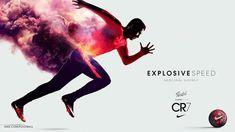 Nike Cristiano Ronaldo CR7 Sport Advertising Football Explosive Speed Savage Beauty