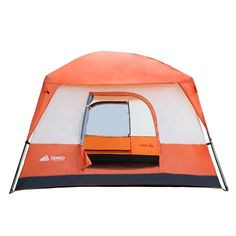 Semoo Waterproof 4-5 Person 2 Doors 3 Season Family Cabin Tent for Camping with Carry Bag, 2000mm ** Read more  at the image link.