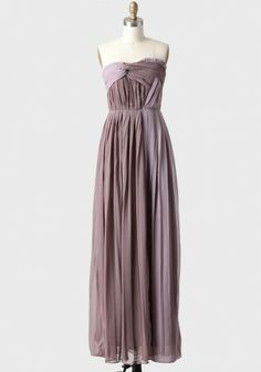 Celosia Pleated Dress In Plum | Modern Vintage Bridal