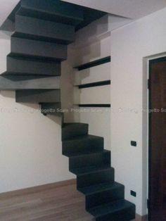 Scale in Metallo Monoblocco 01 Scale per interni - elicoidali - chiocciola - giorno  Stairs ...