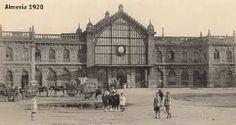 Estación de ferrocarril de Almería (1920)