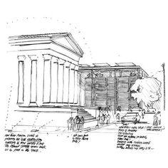 Norman Foster. Carré d'Art Nimes, France 1984-1993: