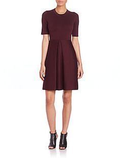 Burberry London Silk-Blend Knit Dress