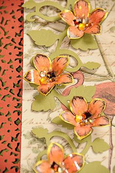 What A Beautiful Mess: Jewelled Cloisonne Flower Tutorial