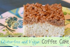 Gluten Free Vegan Coffee Cake - Ask Anna - Ok! I just have to say.....YUM!!!