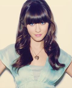 I know its cliche to want to look like Zooey Deschanel. But I have wants her hair for years..think gonna just go for it!
