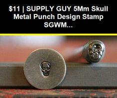 SGCH-125//119//120 SUPPLY GUY Dog Paw 3 Stamp Metal Punch Design Stamp Set