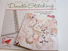 Embroidery Pattern Book, Doodle-Stitching, Fresh and Fun Embroidery for Beginners by Aimee Ray by GriffithGardens on Etsy