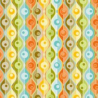 jenean morrison. pattern aqua orange yellow green circles