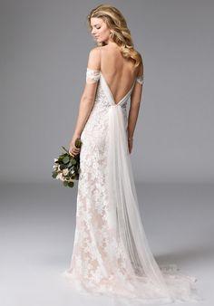 Wtoo Brides Winnifred 17126 Sheath Wedding Dress