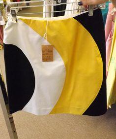 Yellow black and White Shirt