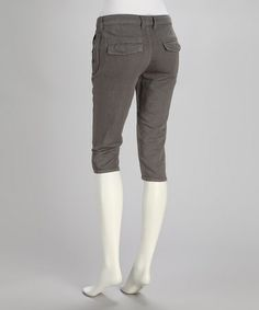 Take a look at this Gray Dusk Linen-Blend Bermuda Shorts by Stitch's on #zulily today!