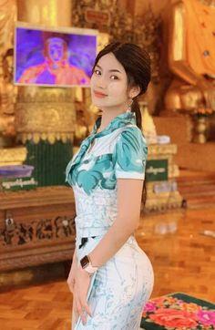 Sexy Asian Girls, Beautiful Asian Girls, Most Beautiful Women, Burmese Girls, Myanmar Women, Oriental, Sexy Curves, Girls Image, Beautiful Indian Actress