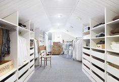 I love wardrobe Attic Closet, Built Ins, Future House, Sweet Home, Interior Design, Bedroom, Storage, Home Decor, House Inspirations