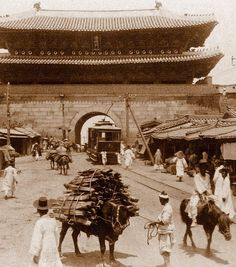 vintage everyday: Vintage Pictures of Daily Life in Korea from the 1900s