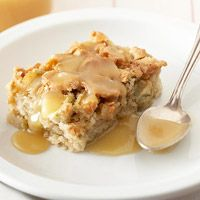 Apple Cake with Buttery Caramel Sauce
